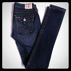 True Religion Julie jeans 27 dark wash